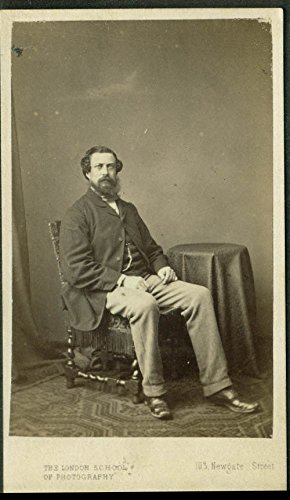 - Charles M Williams CDV by London School of Photography 1866
