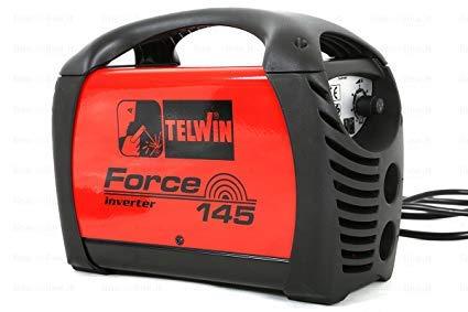 Soldador inverter Force 145 + Accesorios + Maleta Plast.- Telwin – COD.815856