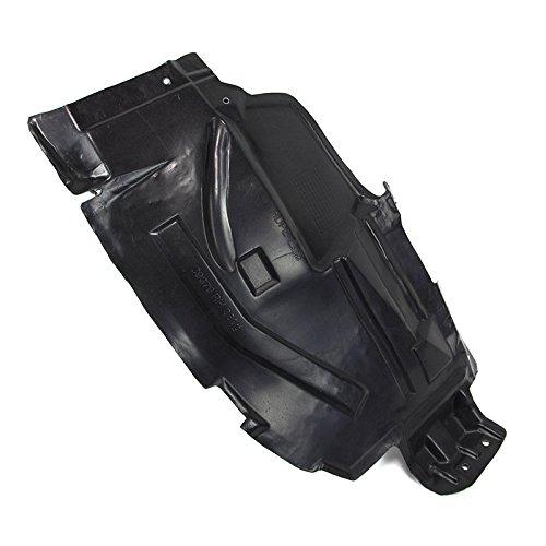 378-36426-12 NI1251130 63844CD000 CarPartsDepot Passenger Right Side Front Portion Fender Liner Splash Shield RH