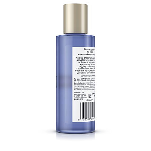 Neutrogena Oil-Free Gentle Eye Makeup Remover, 5.5 Fl. Oz. (Pack of 3) by Neutrogena (Image #5)