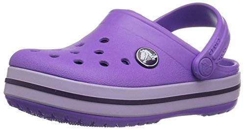 Crocs Kids' Crocband Clog, purple, 4 M US Toddler