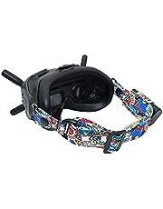 Hooshion Adjustable Head Strap for DJI FPV Goggles V2, Personalized Headband for DJI FPV Goggles and Fatshark Goggles, Goggles Strap Replacement Accessories