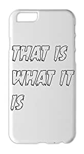 that is what it is Iphone 6 plastic case