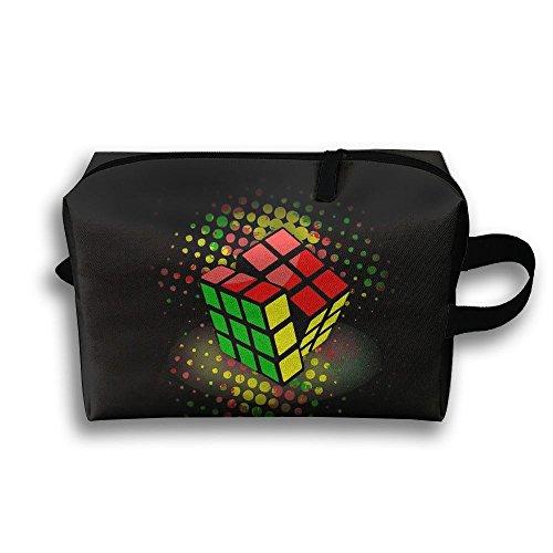 (Storage Bag Travel Pouch Rubik Cube Purse Organizer Cosmetic Stationery Holder)