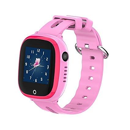 Amazon.com: IP67 impermeable GPS Tracker niños reloj ...