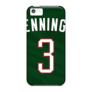 Iphone 5c Case Bumper Tpu Skin Cover For Milwaukee Bucks Accessories