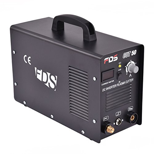 Goplus CUT-50 Electric Digital Plasma Cutter Inverter 50AMP 110-220V Dual Voltage Welder...