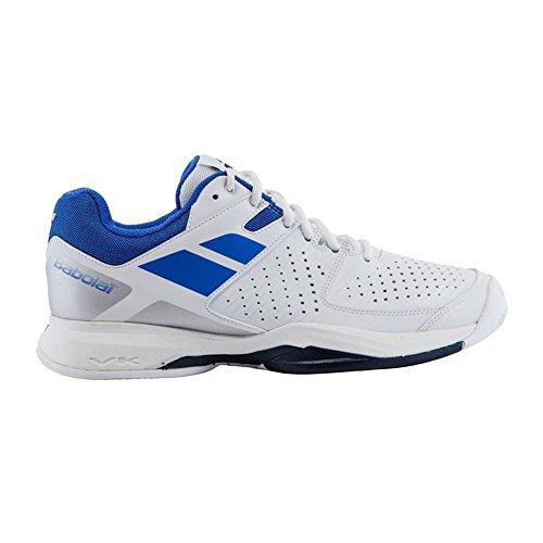 Babolat Pulsion All Court, Zapatillas de Tenis para Hombre Varios colores (Blanco /     Azul)