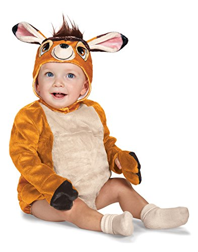 Disguise Baby Bambi Deluxe Infant Costume, Brown, 12 to 18 Months -