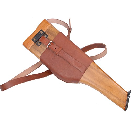 Heerpoint Reproduction German Mauser Broomhandle Leather Holster And Stock (German Mauser Broomhandle Leather Holster And Stock)