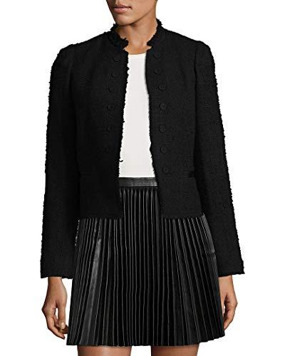 - Rebecca Taylor Womens Boucle Tweed Jacket, 12