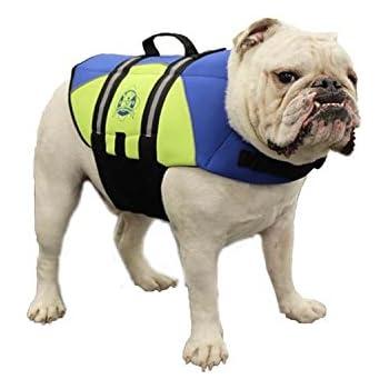 amazon com paws aboard by1400 neoprene doggy life jacket medium