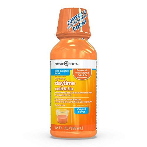 Basic Care Daytime Cold & Flu, 12 Fluid Ounce