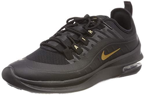 Nike Women's Air Max Axis Running Shoe, Black/Metallic Gold, Size 7.5
