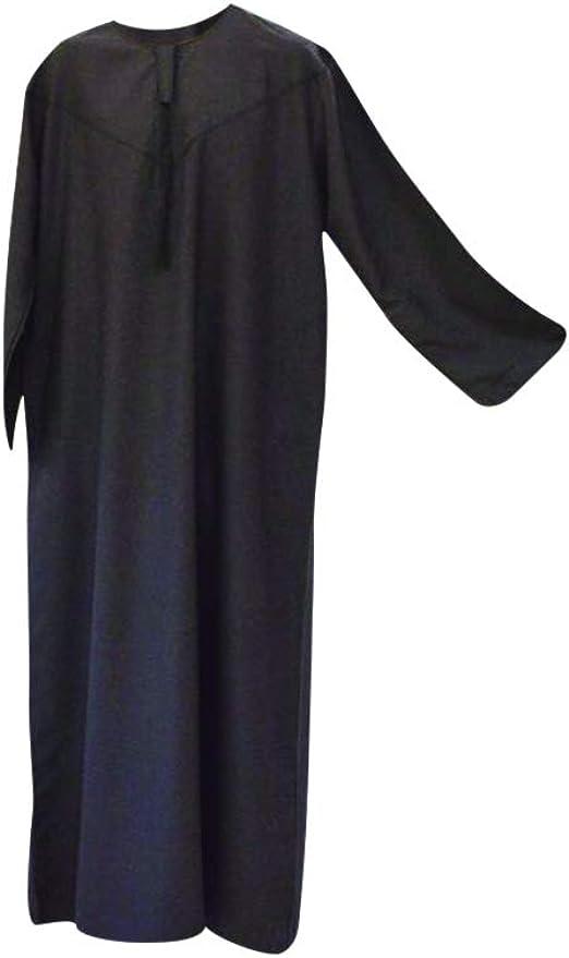 2 piezas árabe camisa vestido Islam Thobe pantalón norte de África libia afgano largo
