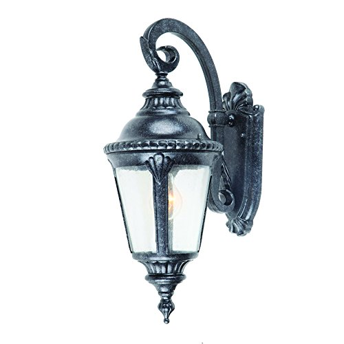 Yosemite Home Décor 7201ST-1S Columbus Collection One Light Exterior, Stone Finish