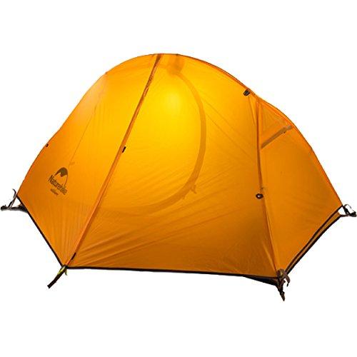トラック著名な驚くべきAzarxis テント ツーリングテント キャンプテント ワンタッチ アウトドア 登山 山岳 前室 二重層 軽量 1~2人用 3シーズン用 折りたたみ 防水 高通気性 防雨 防風 紫外線カット 1-2用