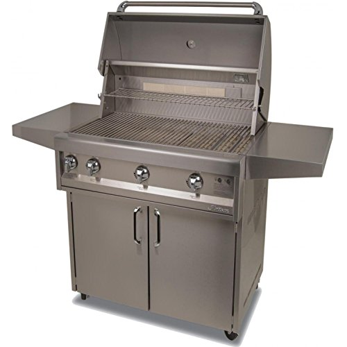 Alfresco Cart - Artisan Classic By Alfresco 32-Inch Natural Gas Grill On Cart With Rotisserie - ART2-32C-NG
