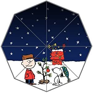 RainbowRain Snoopy Holiday Custom Foldable Umbrella 01