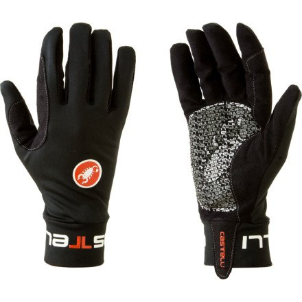 Castelli Mens Bike Glove - Castelli Lightness Glove - Men's Black, M