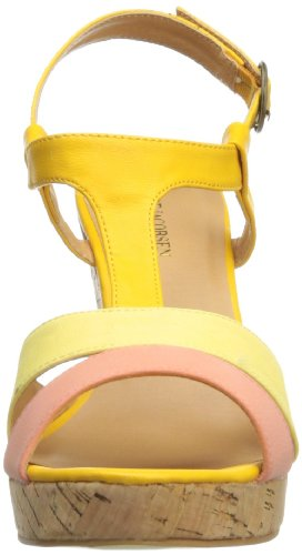 Sandal Wedge Melon ILSE 06 Urban JACOBSEN Women's fwWqIXP