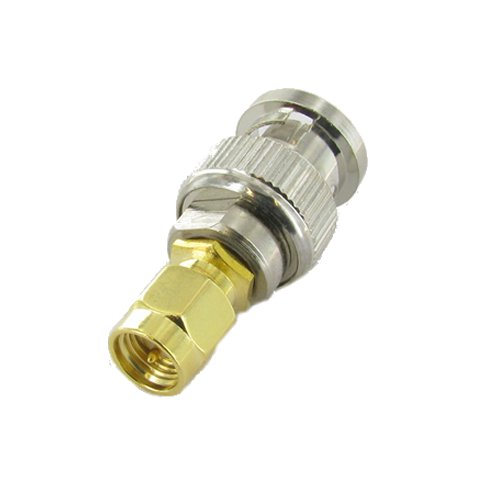 Valley Enterprises SMA Male to BNC Male RF Adapter
