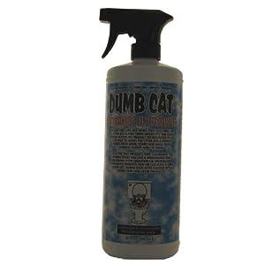 Dumb Cat Anti-Marking and Cat Spray Remover Feline Retraining Aid Sprayer, 32-Ounce 95