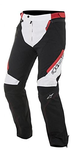 Alpinestars Raider Drystar All-Weather Sport Riding Textile Pants Black/White/Red MD