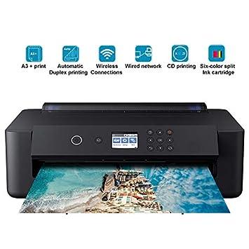 TANCEQI Impresora Multifunción de Tinta (A3, 6 Colores, 5760 ...