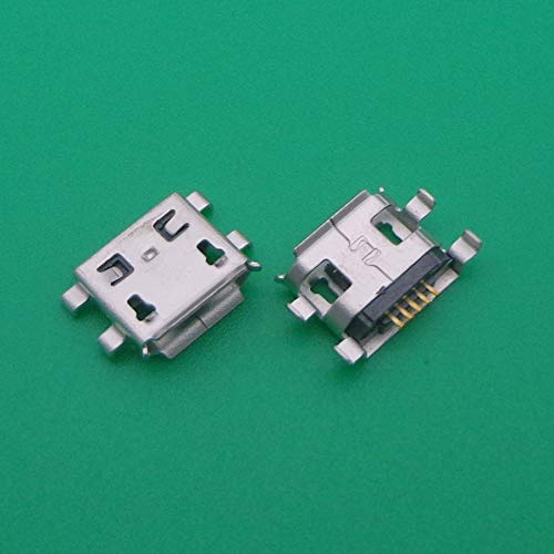 Gimax Micro USB Jack Connector Charging port for ZTE N760 N855D N880S U930 U880E U970 /Blackberry 8900 9500 963 - Berry 963