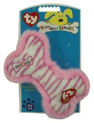 (Ty Bow Wow Beanies - Pink Stripe the)