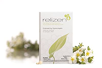 Relizen for Menopause Relief – Hot Flashes – Non-Hormonal, Drug-Free