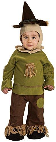 Old Wizard Halloween Costume (Wizard Of Oz Scarecrow Romper Costume, 6-12)