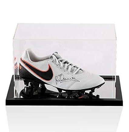 ee73e9ed4b0b1 Michael Owen Signed Football Boot Nike Tiempo - In Acrylic Case ...