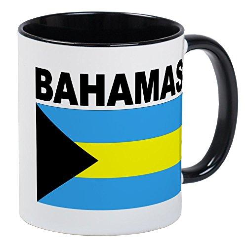 CafePress - Bahamas Flag Mug - Unique Coffee Mug, Coffee Cup