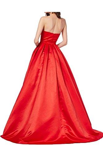 Missdressy - Robe - Femme -  Rouge - 36