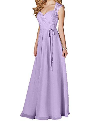 Lilac Vestido trapecio mujer para Topkleider nTwq8z7AxY