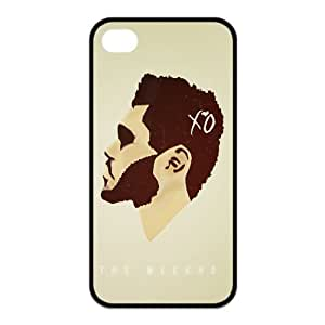 DIY Hard Snap-on Backcover Case for Iphone 4,4s- The Weeknd XO by runtopwell