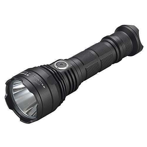 SKILHUNT Tactical Flashlight, Gun Mounted Torch,Hunting Light,1600 lumens Lamp,Gun Mounting LED Tactical Flashlight for Camping Hiking, Long Range High Power USB Rechargeable Rotated Zoom Torch ... (Best Gun Mounted Torch)