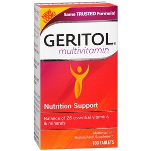 Geritol Multivitamin 100 tab (formerly called Geritol Complete - same product!)
