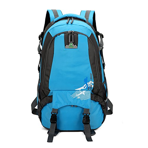 9d60e428ac Galleon - Vanfrost 35L Travel Backpack - Outdoor Sport Water Resistant Camping  Hiking Climbing Cycling Mountaineering Fishing Daypack For Man (Blue)