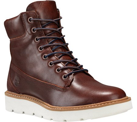 Pour Bottes U Femme Lace Kenniston 6in Timberland Glazed Marron Ginge qZSHHR