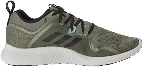 adidas Women's EdgeBounce Running Shoe Base Green/Black/Trace Maroon 5 M US by adidas (Image #7)