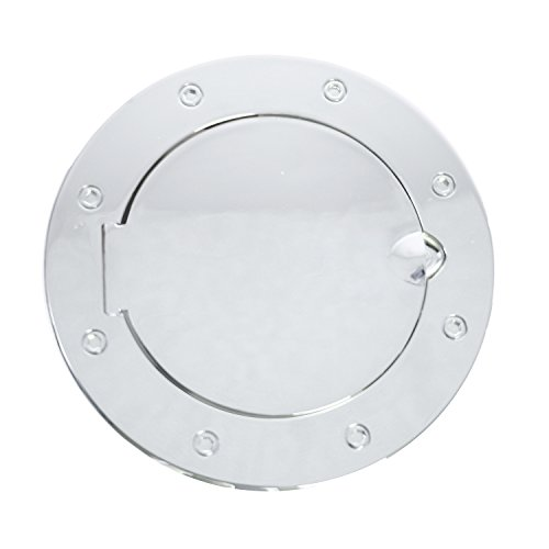 (Rugged Ridge 11134.02 Polished Stainless Steel Gas Door Cover)