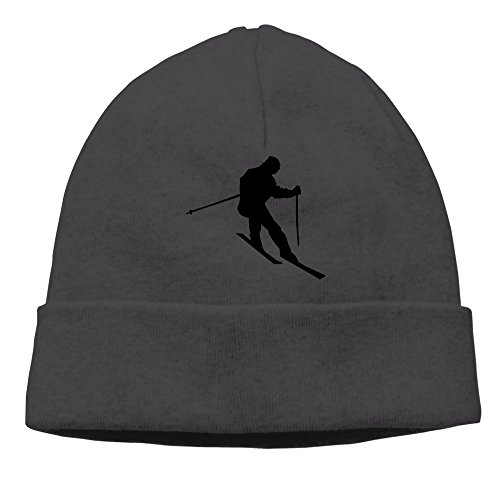 Snow Ski And Mountain Knit Hat Beanies Cap ()