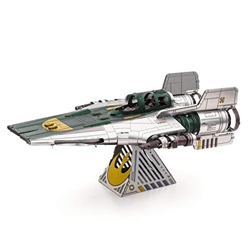 Fascinations Metal Earth Star Wars Rise of Skywalker Resistance A-Wing Fighter 3D Metal Model Kit