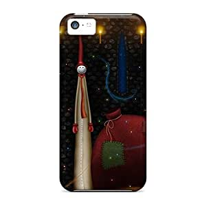 Awesome LastMemory Defender Tpu Hard Case Cover For Iphone 5c- Xmas Bag