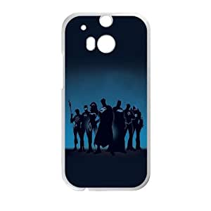 Super Heroes HTC One M8 Cell Phone Case White phone component RT_163697