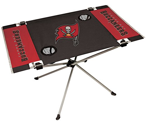 NFL Tampa Bay Buccaneers End Zone Table, Large/31.5