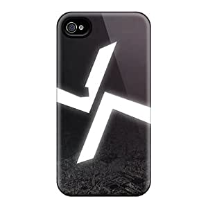 For Iphone 4/4s Protector Case Burial Music Phone Cover by supermalls